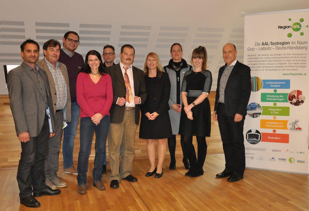 RegionAAL project team